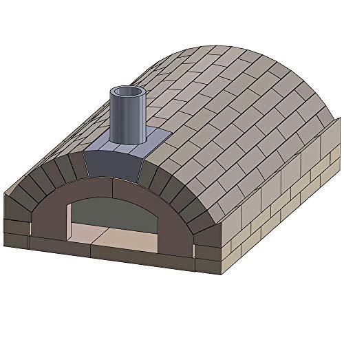 PUR Schamotte Pizzaofen Bausatz - Merano Basic XXL