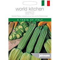 Portal Cool Vegetal Johnsons mundo pictórico Pack - Calabacín Striato D'Italia - 25 semillas