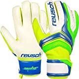 Guanti Portiere Calcio Calcetto Reusch Serathor 2017 Goalkeeper Gloves  (Electric Blue - Green Geko 21abe31db09e