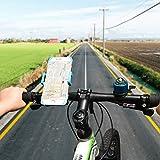 Fahrrad Handyhalterung CHOETECH VerstellbarerFahrrad&Motorrad Handyhalter 360-Grad-Drehung für iPhone, Samsung und andere Smartphones - 7