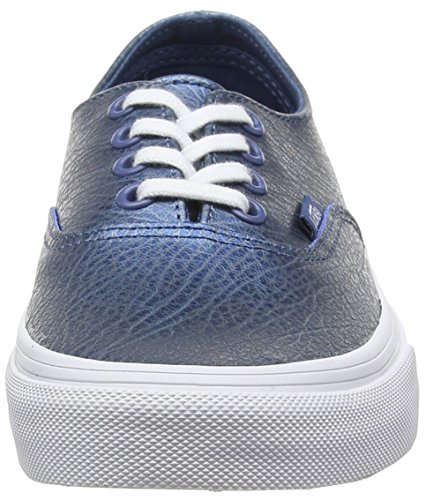 Adulto Unisex Blue Vans Scarpe metallic Leather Ginnastica Decon Basse Blu Authentic da Yxq7n0Pqf