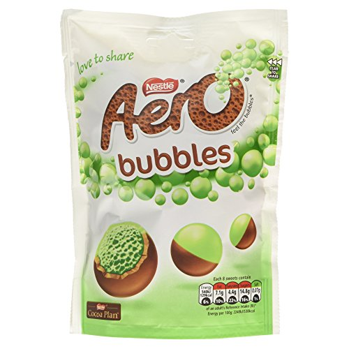 Nestle Aero Bubbles Peppermint Pouch 113g