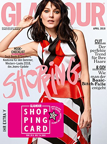 Buchcover GLAMOUR Shopping Week Ausgabe April inkl. VOGUE T-Shirt (04/2018 - deutsch)