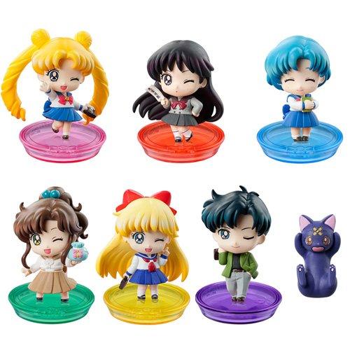 Preisvergleich Produktbild Sailor Moon Petit Chara! School Life Series Mini PVC Trading Figure (1 Random Blind Box)