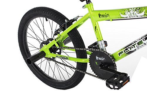 Flite Boy's Panic BMX Bike, 20 inch – Green