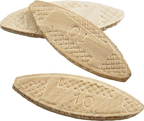Wolfcraft 2922 Biscuits en bois compressé 3/4 x 2-1/20,3 cm