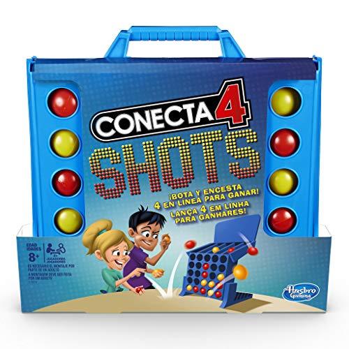 Hasbro Gaming - Juego mesa Conecta 4 Shots Hasbro