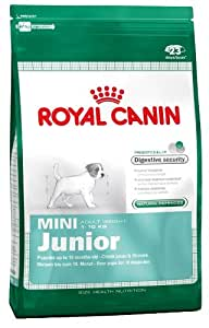 royal canin mini junior dry dog food 4 kg pet supplies. Black Bedroom Furniture Sets. Home Design Ideas