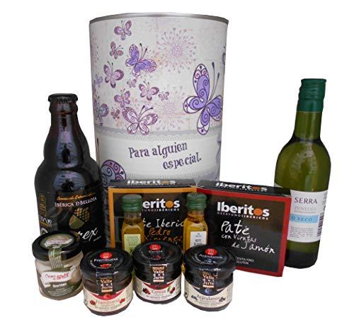 Lote de regalo con productos Gourmet para mujer