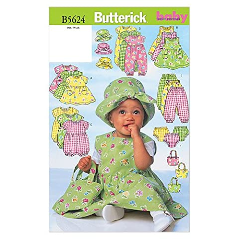 Lot Patron Couture - Butterick Patterns b5624 Grande Taille L-XL enfants robe