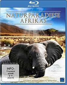 Naturparadiese Afrikas [Blu-ray]