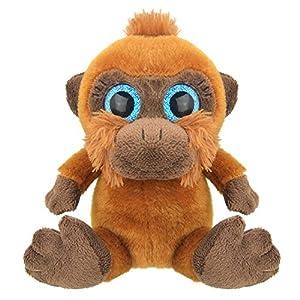 Wild Planet- Orbys-Juguete de Peluche Orangutan 15cm Hecho a Mano, (K8170)