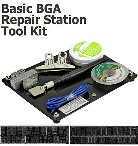 Buyyart New Basic BGA Repair Station Tool Kit With Solder Paste And Wire  available at amazon for Rs.999