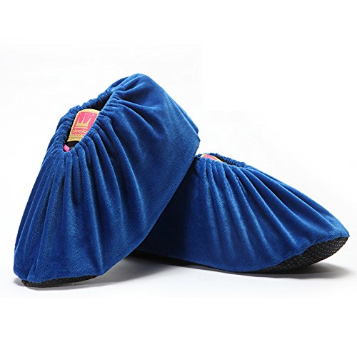 Per bagagliaio, durevole antiscivolo resistente all' acqua antiscivolo velluto scarpe di scarpe lavabili e riutilizzabili riciclabili covers standard blue
