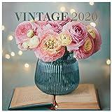 Erik® - Calendario 2020 da muro Vintage. Licenza ufficiale, 30x30 cm, 12 mesi