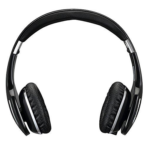 AUSDOM M07 Geschlossener Kopfhörer, Wireless Bluetooth, Bassverstärker, Faltbar, Ultralicht, Wireles + Kabel Kopfhörer mit Mikrofon für Streaming und Telefon