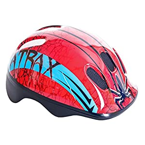 KIDS CHILDRENS BOYS GIRLS CYCLE SAFETY HELMET BIKE BICYCLE SKATING 49-56cm from spoke