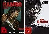 Rambo 1-4 Teil 1+2+3+4 Quadrologie [DVD Set]