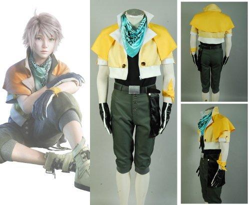Final Fantasy XIII FF 13 Hoffnung Estheim Kostüm (Final Fantasy Xiii 2 Kostüm)