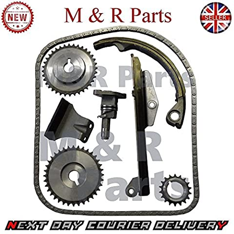 Full Timing Chain Kit Guide Curved Slack Side 2,0 L DOHC 1991 To 2002 Petrol free shipping