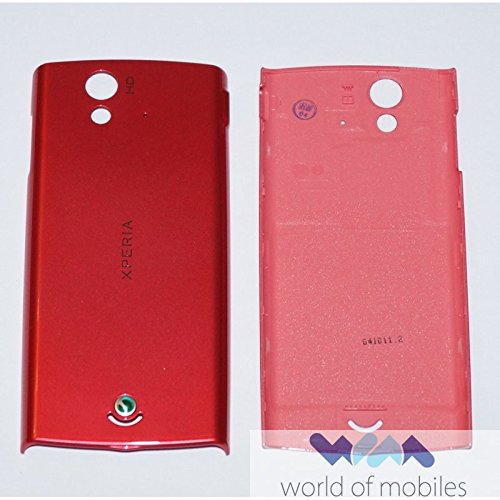 Sony Ericsson Xperia RAY ST18i Akkudeckel, Battery Cover, Pink Handy Cover Sony Ericsson