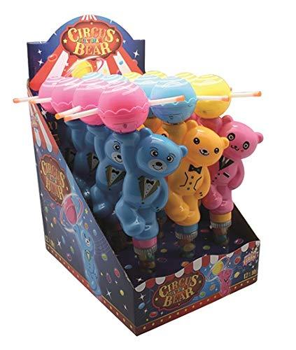 Sweet Flash Circus Tanz Bär gefüllt mit Jelly Beans 12 Stück im Karton -