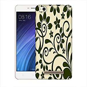Snoogg Seamless Floral Pattern Abstract Background Designer Protective Back Case Cover For Xiaomi Redmi 4A