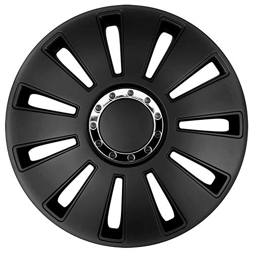 Autostyle pp 5034b set copricerchi silverstone pro 14pollici, nero