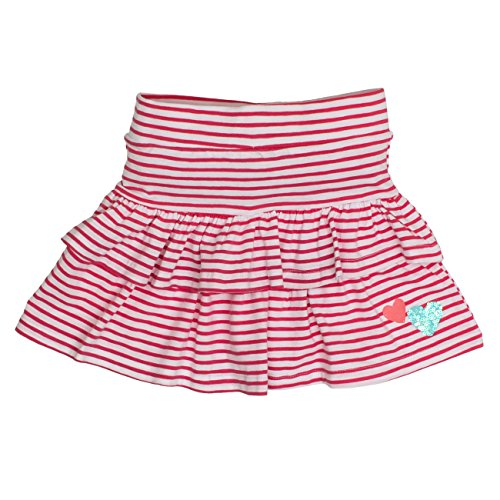 Salt & Pepper Girl's Sunny Day Stripe Volants Skirt