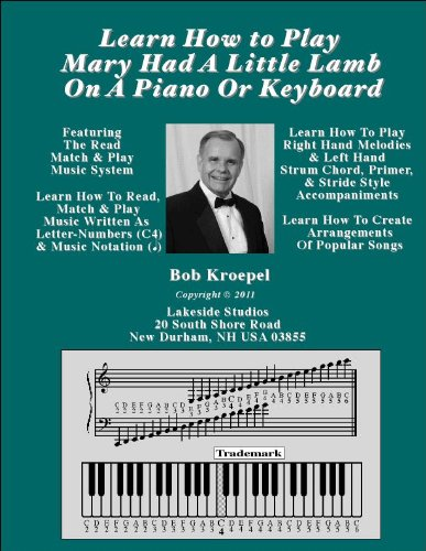 Learn How To Play Mary Had A Little Lamb On A Piano Or Keyboard (English Edition)