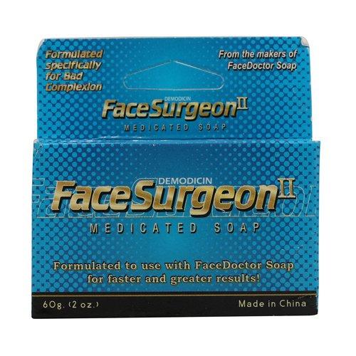 Visage Chirurgien II, savon médicamenté 2 oz (60 g) - Visage Docteur