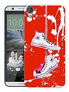 "Humor Gang Shoes My Life Printed Designer Mobile Back Cover For ""HTC DESIRE 820"" (3D, Matte Finish, Premium Quality, Protective Snap On Slim Hard Phone Case, Multi Color)"