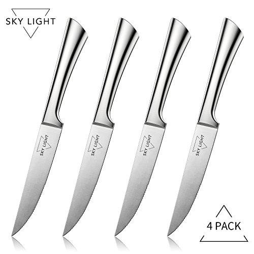 Ensemble de couteaux à steak haut de gamme, 4 pièces