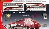 Mehano T106 - Thalys Trenino Elettrico in Scala H0, Realizzato su Disegno del Vero Thalys