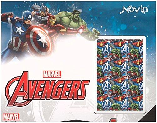 Copriletto trapuntato avengers marvel singolo 170x260 cm