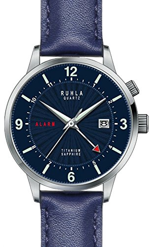 Gardé (by Ruhla) Uhr Herren Titan Armbanduhr Modell Ruhla-Alarm 34803 mit Weckfunktion