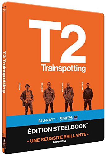 T2 Trainspotting [Blu-ray + Copie digitale - Édition boîtier SteelBook]