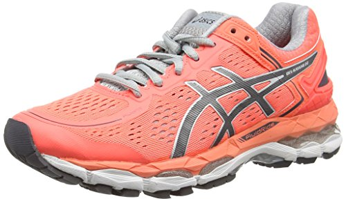 asics-gel-kayano-22-womens-running-shoes-pink-flash-coral-carbon-silver-grey-0697-5-uk