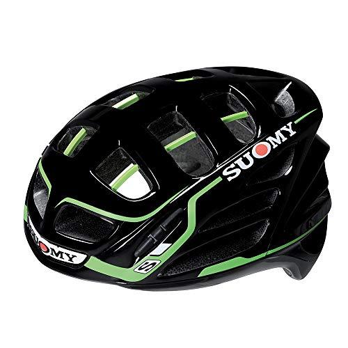 Suomy Motorradhelm SR Sport Shape, Schwarz/VERDE, 2XL