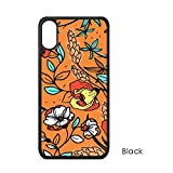 beatChong Orange Modern Art Lily Camellia für iPhone X-Hüllen phonecase Apple-Abdeckungs-Hüllen-Geschenk