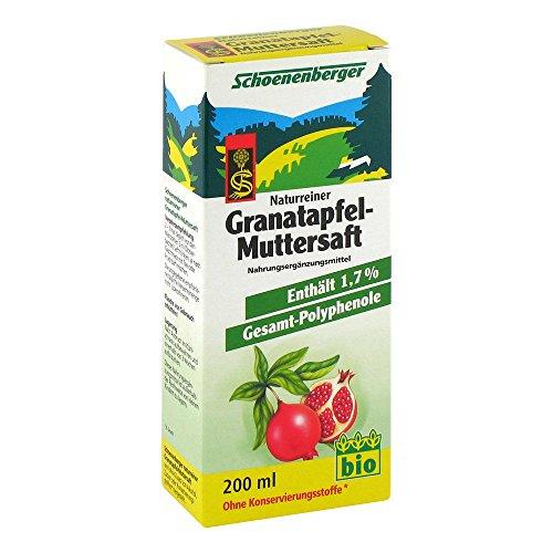 Schoenenberger Granatapfel-Muttersaft, 200 ml