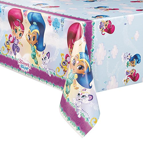 Shimmer and Shine Plastic Tablecloth, 84