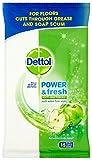 Dettol salviette detergenti per pavimento, 15pezzi (Confezione da 3)