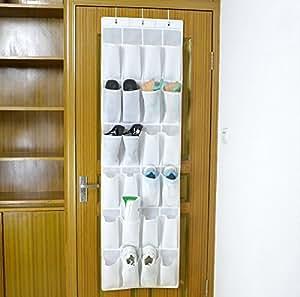 bekith h ngeorganizer rangement chaussures avec syst me de rangement pour 24 pochette de porte. Black Bedroom Furniture Sets. Home Design Ideas