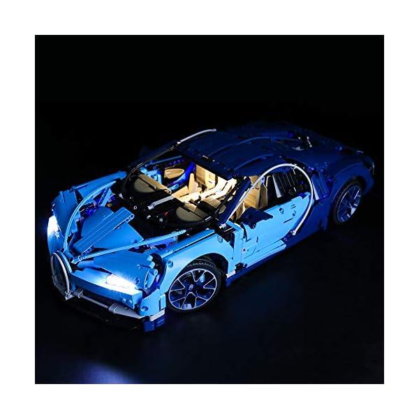 BRIKSMAX Kit di Illuminazione a LED per Lego Technic Bugatti Chiron,Compatibile con Il Modello Lego 42083 Mattoncini da… 2 spesavip