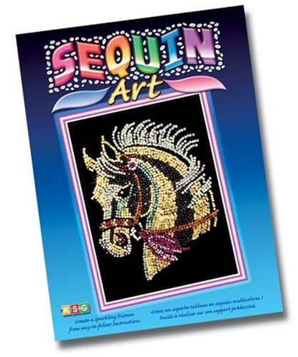 Sequin Art Cheval