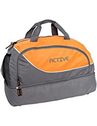 Brubaker Active_Tasche_GrauOrange  Unisexe Adulte Sac de sport  Grau/Orange