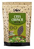 SOW Seeds of Wellness - Chia Crunch - Toasted Black Chia Seeds 454g from Seeds of Wellness