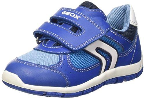 Geox Baby Jungen Shaax B Krabbelschuhe Blau (Royal/Sky)