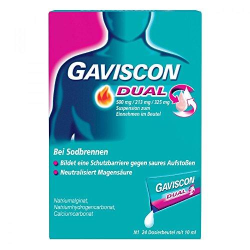 Gaviscon Dual Suspension Beutel, 24 St.